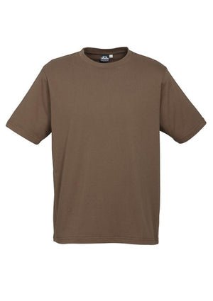 Biz Collection-Biz Collection Mens Ice Tee 1st ( 12 Colour )-Mocha / S-Uniform Wholesalers - 11
