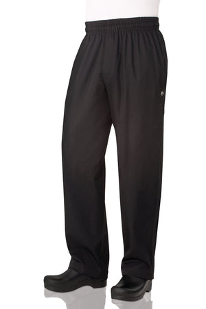 Chef Works Essential Baggy Zip-fly Chef Pants - (NBBZ)
