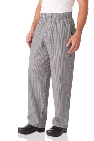 Chef Works Essential Baggy Zip-fly Chef Pants-(NBMZ)