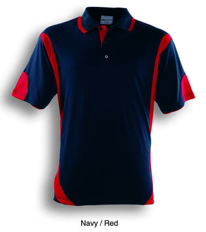 Bocini-Bocini Adults Breezeway Contrast Polo(1st 12 colors)-Navy/Red / M-Uniform Wholesalers - 10