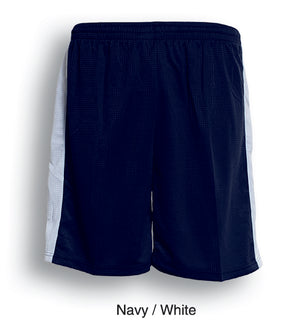 Bocini-Bocini Adults Soccer Shorts-Navy/White / S-Uniform Wholesalers - 4