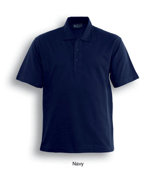 Bocini-Bocini Cotton Jersey Polo-Navy / S-Uniform Wholesalers - 3
