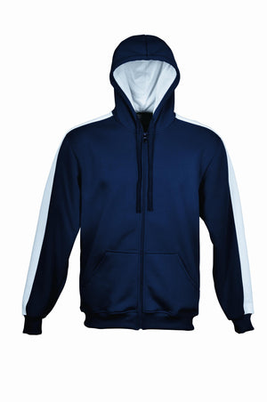 Bocini-Bocini Kid's Contrast Fleece-Navy/White / 6-Uniform Wholesalers - 6