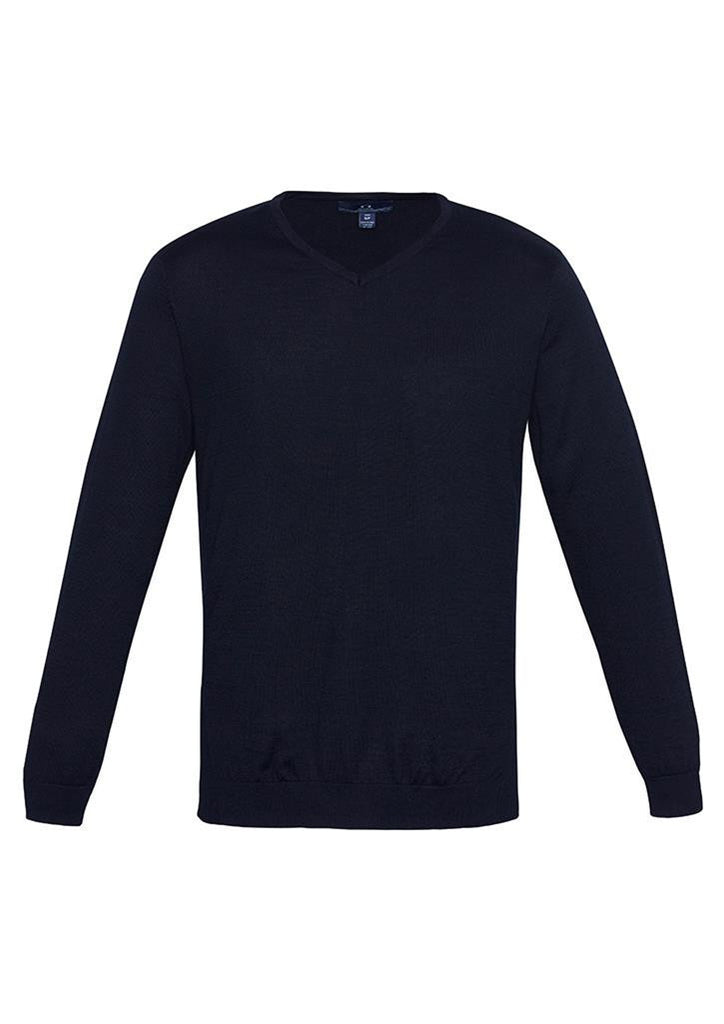Biz Collection-Biz Collection Mens Milano Pullover-Navy / XS-Uniform Wholesalers - 4
