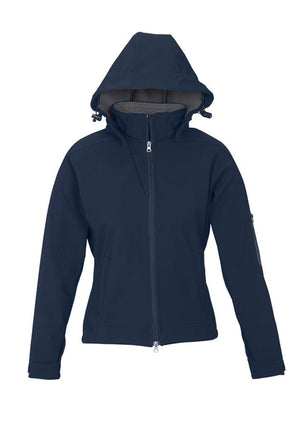 Biz Collection-Biz Collection Ladies Summit Jacket-Navy / Graphite / S-Uniform Wholesalers - 3