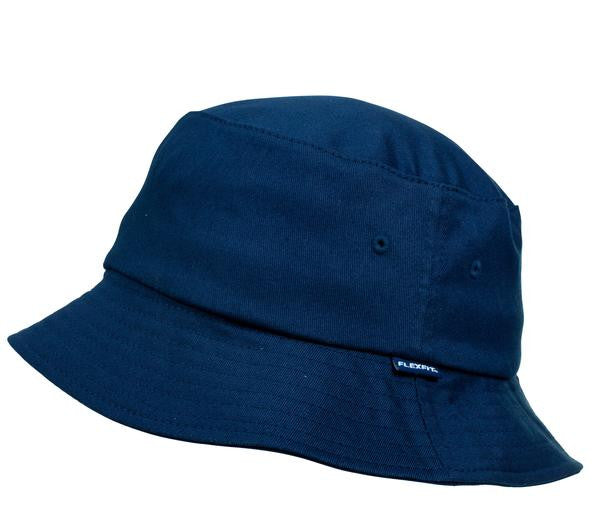 FLEXFIT-FLEXFIT Bucket Hat-Navy / OSFA-Uniform Wholesalers - 2