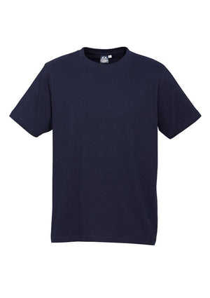 Biz Collection-Biz Collection Mens Ice Tee 1st ( 12 Colour )-Navy / S-Uniform Wholesalers - 12