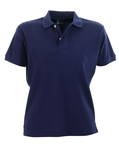 identitee-identitee Ladies Venice Slim Cut Polo Shirt-Navy / 8-Uniform Wholesalers - 6