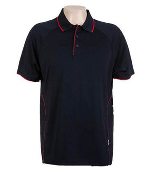 Australian Spirit-Aus Spirt Senator Mens Polo-Navy / Red / S-Uniform Wholesalers - 6