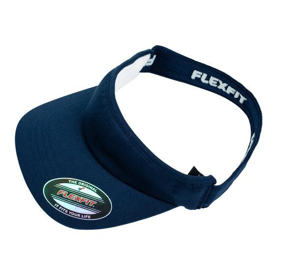 FLEXFIT-FLEXFIT Visor-Navy / OSFA-Uniform Wholesalers - 2