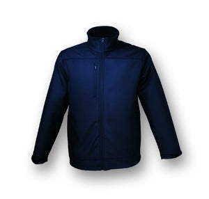 Bocini-Bocini  Ladies New Style Soft Shell Jacket-Navy / 8-Uniform Wholesalers - 4