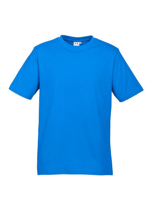 Biz Collection-Biz Collection Kids Ice Tee - 2nd ( 11 Colour )-Neon Cyan / 2-Uniform Wholesalers - 3