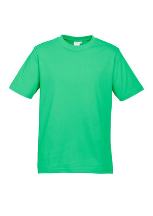 Biz Collection-Biz Collection Kids Ice Tee - 2nd ( 11 Colour )-Neon Green / 2-Uniform Wholesalers - 4