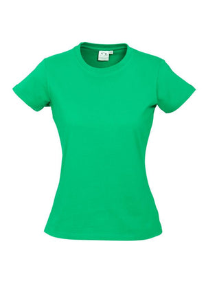 Biz Collection-Biz Collection Ladies Ice Tee 2nd  ( 10 Colour )-Neon Green / 6-Uniform Wholesalers - 10