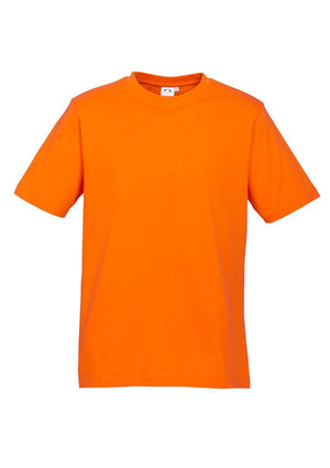 Biz Collection-Biz Collection Mens Ice Tee 1st ( 12 Colour )-Orange / S-Uniform Wholesalers - 13