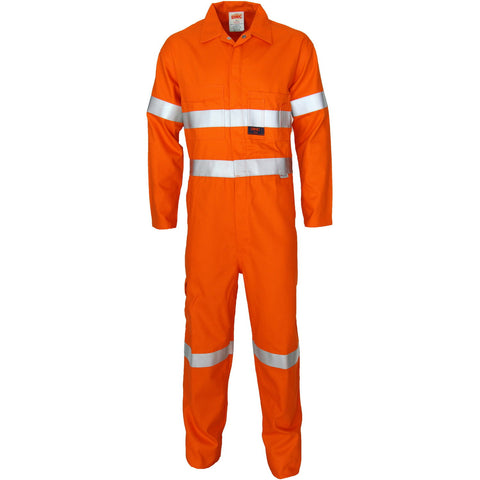 DNC Workwear-DNC Patron Saint Flame Retardant ARC Rated Coverall with 3M F/R Tape-Orange / 77R-Uniform Wholesalers