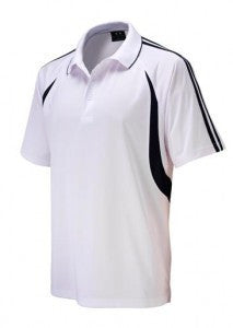 Biz Collection-Biz Collection Mens  Flash Polo 2nd ( 6 Colour )-White / Navy / 5XL-Uniform Wholesalers - 8