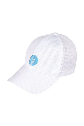 Chef Works-Chef Works White Cool Vent Cap w/ CW Logo-White-Uniform Wholesalers