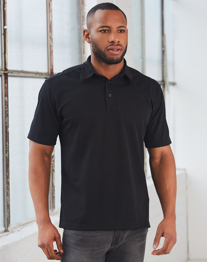 Winning Spirit Men's CoolDry® Short Sleeve Polo-(PS21)