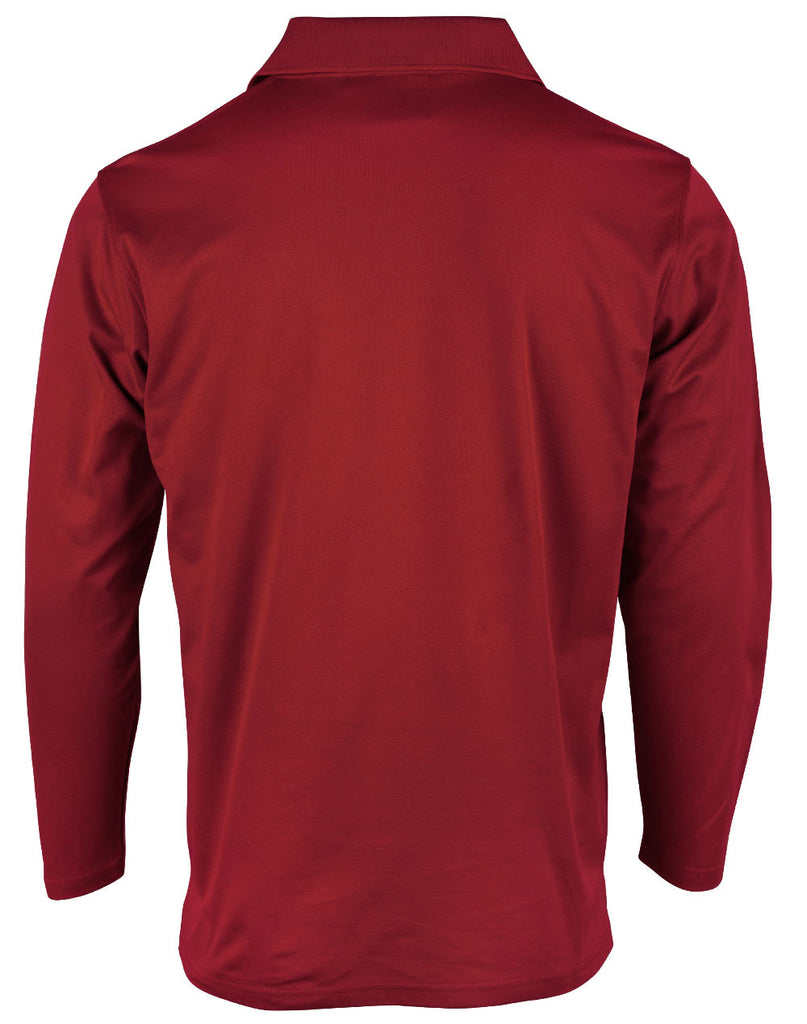 Winning Spirit TrueDry® Long Sleeve Polo-(PS35)