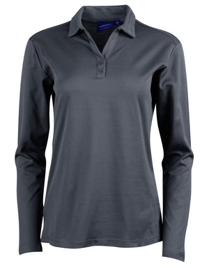 Winning Spirit  Victory Plus Truedry® Long Sleeve Polo (PS36B)