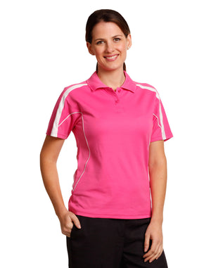 Winning Spirit-Winning Spirit Ladies' TrueDry® Short Sleeve Polo 2nd (10 Colour )--Uniform Wholesalers - 1