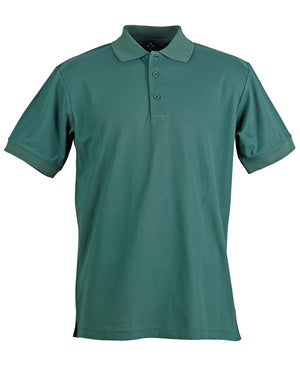 Winning Spirit-Winning Spirit Men's TrueDry® Solid Colour Pique Polo 1st (12 Colour)-Bottle / S-Uniform Wholesalers - 5