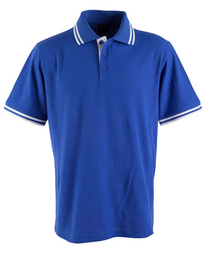 Winning Spirit-Winning Spirit Men's Grace Polo-M / Royal/White-Uniform Wholesalers - 9