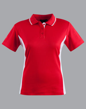 Winning Spirit Women's TrueDry® Contrast Short Sleeve Polo-(PS74)