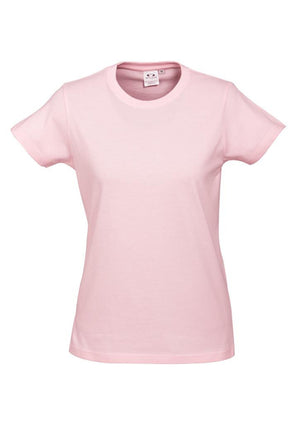 Biz Collection-Biz Collection Ladies Ice Tee 2nd  ( 10 Colour )-Pink / 6-Uniform Wholesalers - 6