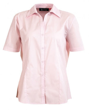 identitee-Identitee Ladies Rodeo Short Sleeve-Pink / 8-Uniform Wholesalers - 6