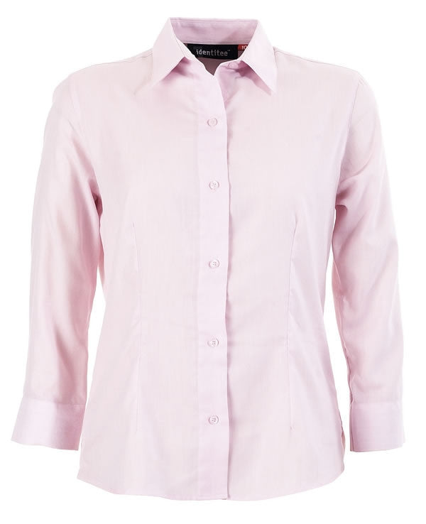 identitee-Identitee Ladies 3/4 Sleeves Trafalgar-Pink / 8-Uniform Wholesalers - 3