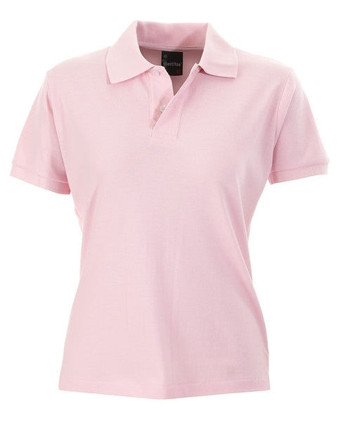 identitee-identitee Ladies Venice Slim Cut Polo Shirt-Pink / 8-Uniform Wholesalers - 7