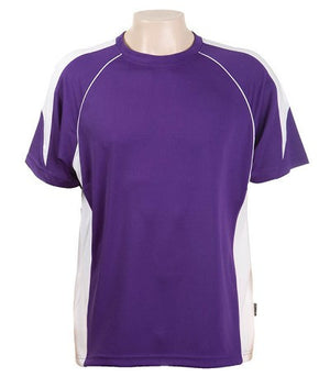 Australian Spirit-Aus Spirt Olympikool Tees 2nd ( 8 Colour )-Purple / White / S-Uniform Wholesalers - 5