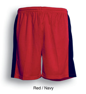 Bocini-Bocini Adults Soccer Shorts-Red/Nevy / S-Uniform Wholesalers - 5