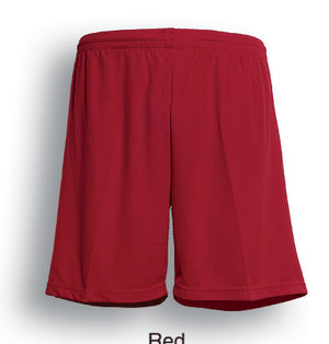 Bocini-Bocini Adults Breezeway Football Shorts-Red / S-Uniform Wholesalers - 8