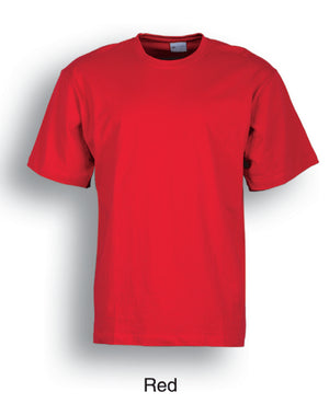 Bocini-Bocini Adults Tee 2nd (9 colour)-Red / S-Uniform Wholesalers - 4