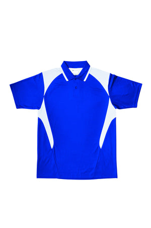 Bocini-Bocini Adults Active Polo-Royal/White / S-Uniform Wholesalers - 9