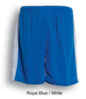 Bocini-Bocini Adults Soccer Shorts-Royal Blue/White / S-Uniform Wholesalers - 6