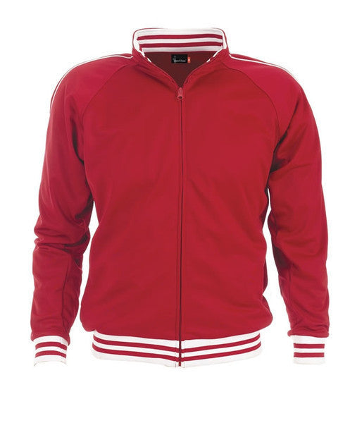 identitee-identitee Mens Sunset Urban Track Top-Red / XS-Uniform Wholesalers - 5