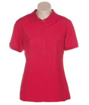 Australian Spirit-Aus Spirt Gelato Ladies Polo-Red / 8-Uniform Wholesalers - 7