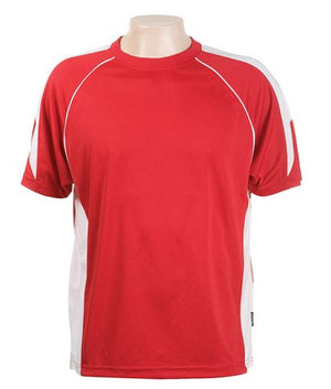 Australian Spirit-Aus Spirt Olympikool Tees 2nd ( 8 Colour )-Red / White / S-Uniform Wholesalers - 6