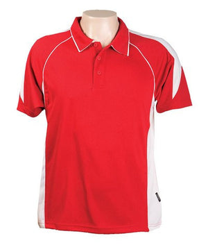 Australian Spirit-Aus Spirt Olympikool Polo Junior 2nd ( 8 color )-6 / Red/White-Uniform Wholesalers - 6