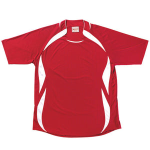 Bocini-Bocini Kids Sports Jersey (2nd 8 Colours)-Red/White / 6-Uniform Wholesalers - 3