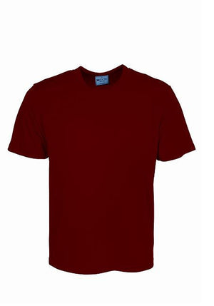 Bocini-Bocini Adults Plain Breezeway Micromesh Tee Shirt 1st (14 Colour)-Red / S-Uniform Wholesalers - 9