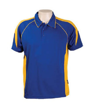 Australian Spirit-Aus Spirt Olympikool Polo Junior 2nd ( 8 color )-6 / Royal/Gold-Uniform Wholesalers - 7