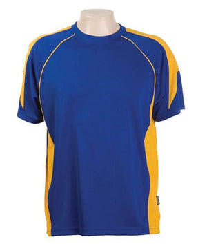 Australian Spirit-Aus Spirt Olympikool Tees 2nd ( 8 Colour )-Royal blue / Gold / S-Uniform Wholesalers - 7