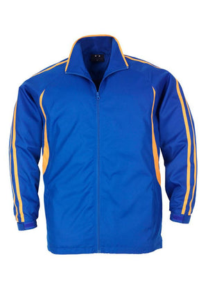 Biz Collection-Biz Collection Adults Flash Track Top 2nd ( 4 Colour )-Royal / Gold / XS-Uniform Wholesalers - 4
