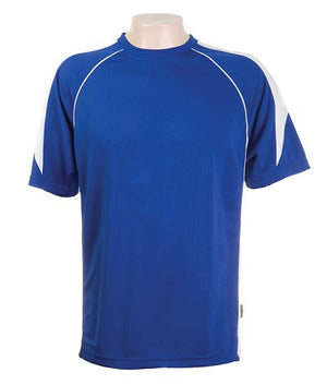 Australian Spirit-Aus Spirt Olympikool Tees 2nd ( 8 Colour )-Royal blue / White / L-Uniform Wholesalers - 8