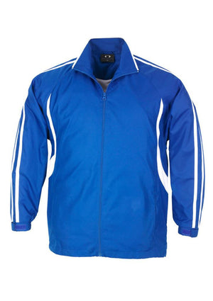 Biz Collection-Biz Collection Adults Flash Track Top 2nd ( 4 Colour )-Royal / White / XS-Uniform Wholesalers - 5